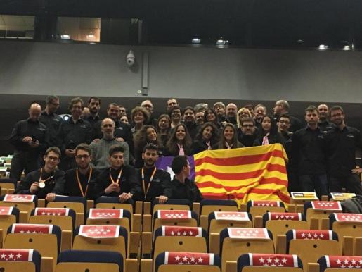 En la imagen, los alumnos de Baleares premiados en 'SpainSkills'.