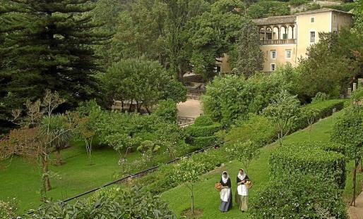 Vista de La Granja de Esporles.