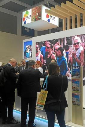 Estand de Eivissa en la edición de la ITB celebrada el pasado año.