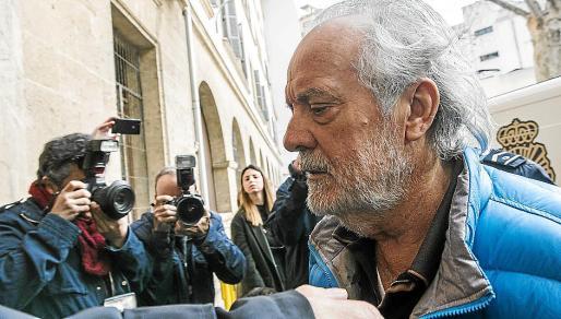 Cursach, el pasado viernes en su puesta a disposición judicial por parte de la policía.