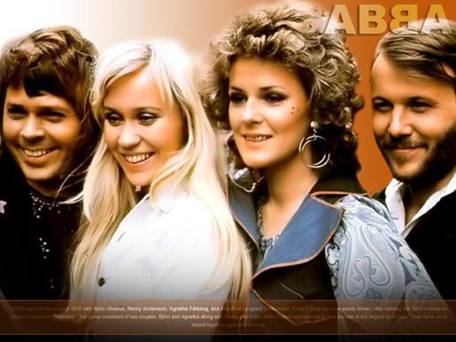 Imagen del grupo sueco en su época de triunfos.