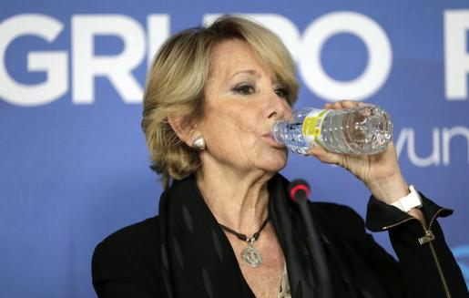Los hechos investigados concurrieron mientras Esperanza Aguirre era la máxima dirigente del partido.