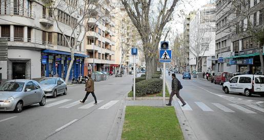 Los nuevos pliegos también mejorarán la señalización de siete pasos de peatones de la calle Manacor.