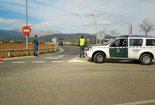 La Guardia Civil de Inca arrestó a los sospechosos en un control.