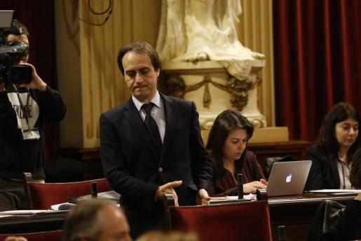 El parlamentario popular ha recibido últimamente duras acusaciones de parte de Podemos.