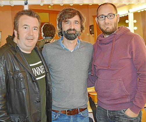 Pere Terrassa, Marcel Cranc y Dani Paz.