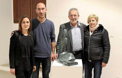 Izquierda: Regina Cortés, Antoni Miquel Morro, Damià Rigo y Maria Rosselló.