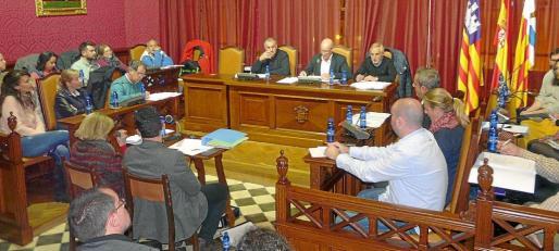 El equipo de gobierno de Llucmajor aprobó los presupuestos municipales en el último pleno.