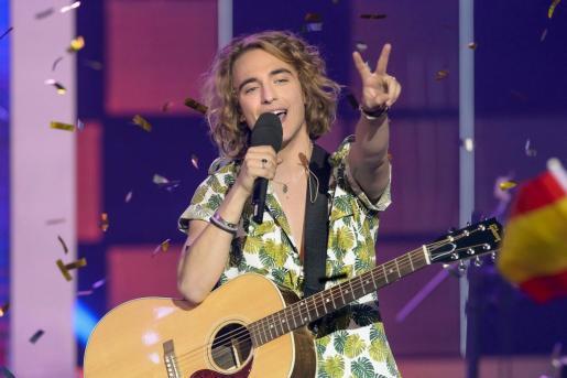 El cantante Manel Navarro, que con la canción compuesta por él 'Do it for your lover' representará a España en el próximo festival de Eurovisión.