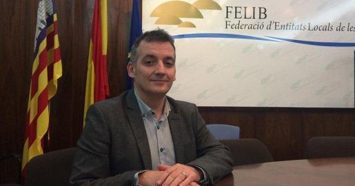 El presidente de la Felib, Joan Carles Verd.