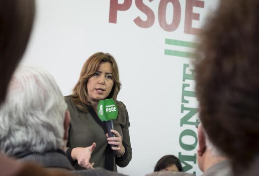 La presidenta de Andalucía hará oficial su candidatura a las primarias a la Secretaría General del PSOE en un acto que se celebrará en Madrid el próximo día 26 de marzo.