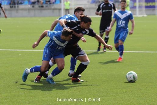 El Atlètic Balears ha caído en su visita al campo del Badalona.