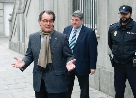 El expresident Artur Mas, inhabilitado por el tribunal.