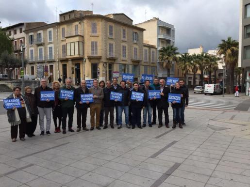 Representantes del PP de Inca reclamado «más información y transparencia».