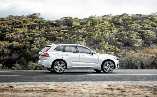 El XC60 de Volvo Cars comenzará a fabricarse a mediados de abril.