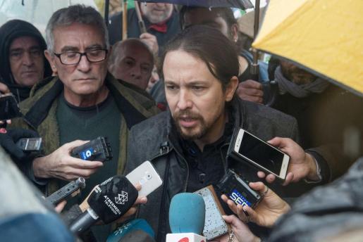 El líder de Podemos ha criticado a la jerarquía católica española, y ha aludido al hecho de que tienen medios de comunicación propios.