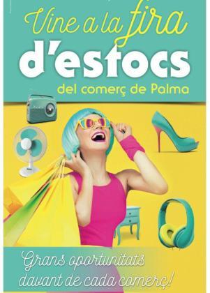 Cartel de la nueva edición de la Fira d'Estocs de Palma.