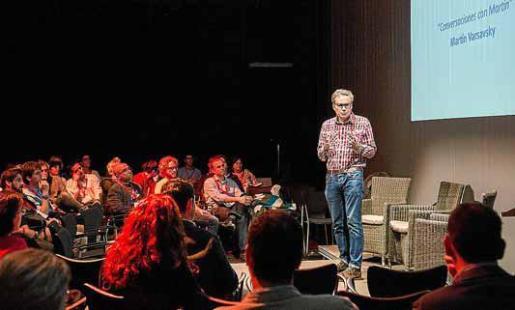 Martin Varsavsky en una intervención que protagonizó en la edición del año pasado de Innovem.