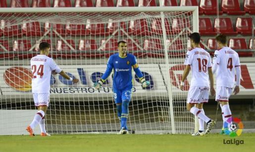 En la imagen, el portero del RCD Mallorca, Jesús Cabrero.