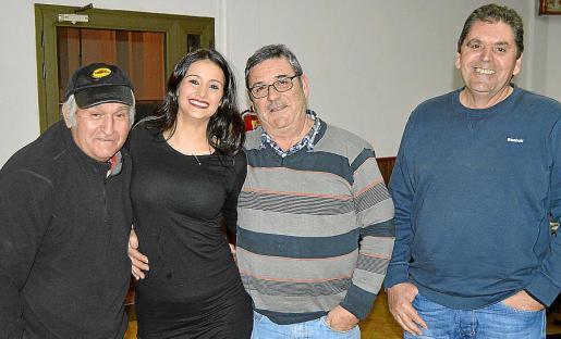 Francisco Grimalt, Maria Antònia Ferrando, Pepe Repiso y Manuel Manrique.