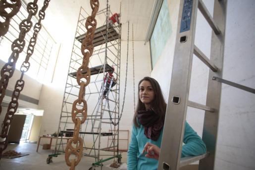 La artista Patricia Mato-Mora.