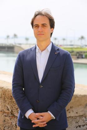 En la imagen, el diputado del PP, Álvaro Gijón.