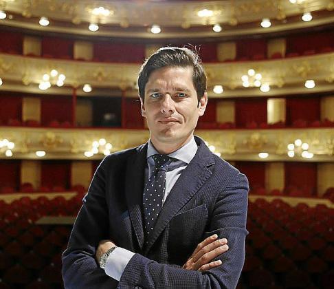 Carlos Forteza, director gerente del Teatre Principal.