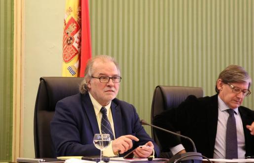 Andreu Manresa, en su comparecencia en comisión parlamentaria.