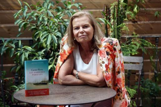 """La escritora mallorquina ha convertido al archiduque en el protagonista de su último título """"Les darreres paraules"""" (Las últimas palabras)."""