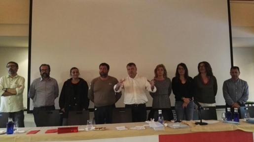 Este jueves ha tenido lugar el II Congreso de la Federación de Servicios a la Ciudadania de CCOO Baleares donde Josep Ginard ha renvado mandato. manat