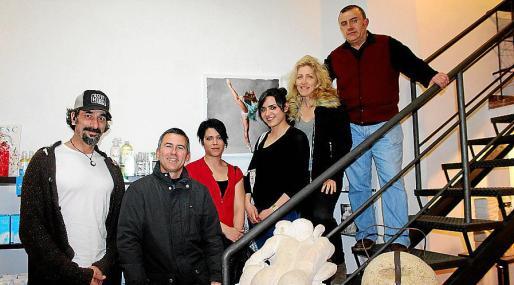 Vikthor Clarke, Felip Company, Rocío Ojeda, Sara Sánchez, Aina Pastor y Miquel Angel Bernat.