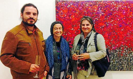 Miquel Ximena, Lidia Carpio y Mª Cruz Iglesias.