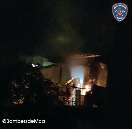 El edificio ha quedado totalmente afectado, si bien no ha habido heridos.