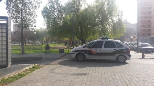 Los hechos sucedieron el parque Krekovic, frente e la Comandancia de la Guardia Civil.
