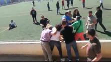 Pelea en el campo de fútbol de Alaró