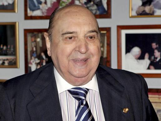 Imagen de archivo del actor Juanito Navarro que ha fallecido hoy en su domicilio de Madrid