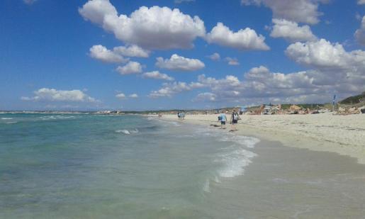 En la imagen, la playa de Es Trenc.