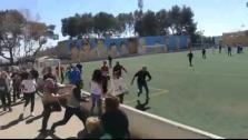 Batalla campal en el partido infantil entre el Alaró y el Collerense