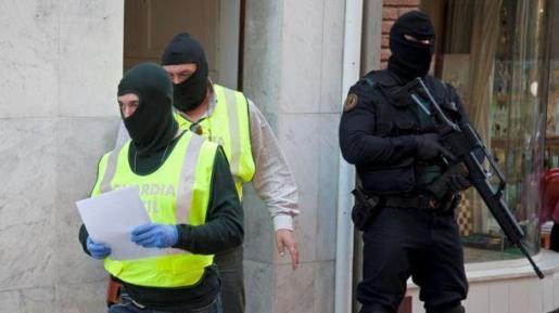 Foto de archivo de una operación reciente en Girona.