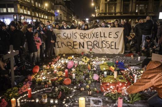Imagen de archivo de un homenaje a las víctimas del atentado, un día después del ataque.