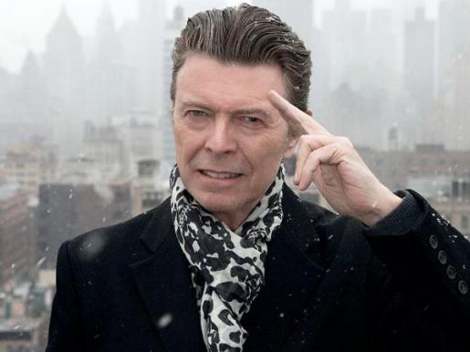 En la imagen, el fallecido cantante, David Bowie.