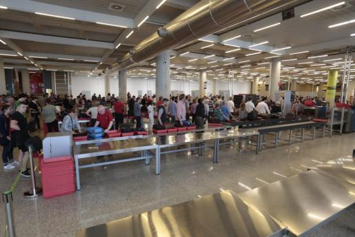 Imagen del aeropuerto de Son Sant Joan.