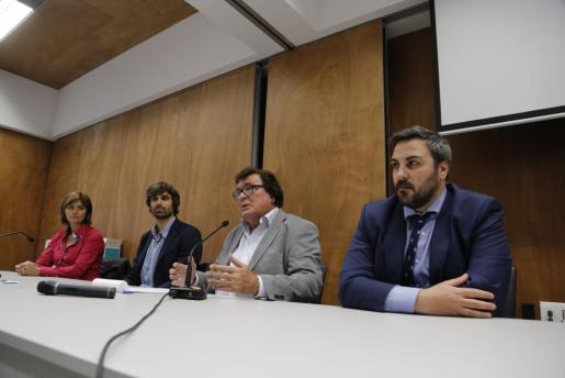 Imagen de la reunión de la FFIB celebrada este martes.