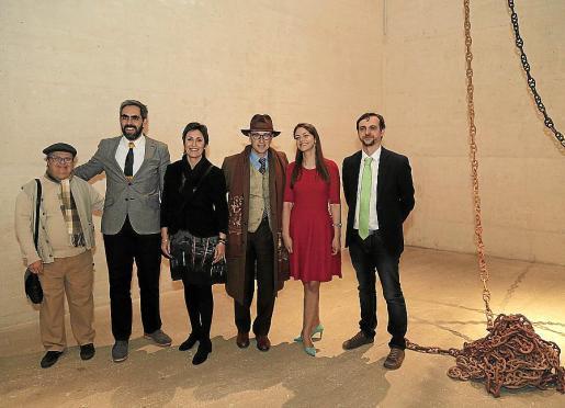 Teo Punyet, Francisco Copado, Francisca Niell, Juan Punyet, Patricia Mato-Mora y Llorenç Carrió. Fotos: Jaume Morey.