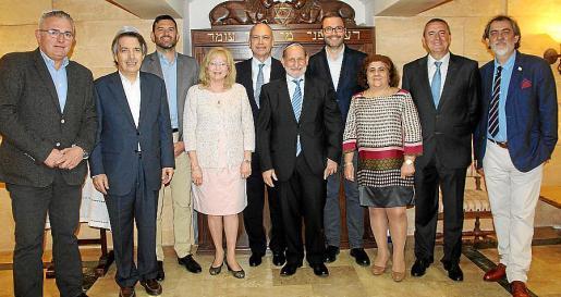 Jaume Font, Xavier Pericay, Josep Claverol, Lynn Delumen, Isaac Querub, Abraham Barchilón, José Hila, Mercedes Elbaz, Pere Rotger y José María Molina.