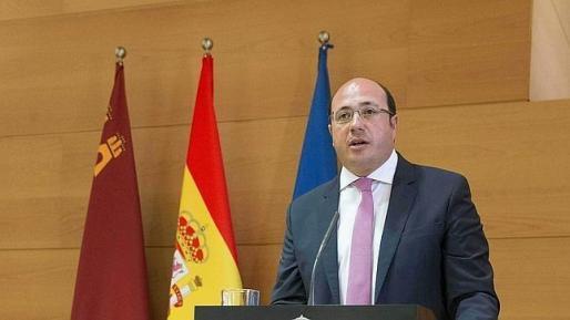 Imagen de archivo del presidente de la Región de Murcia, Pedro Antonio Sánchez.