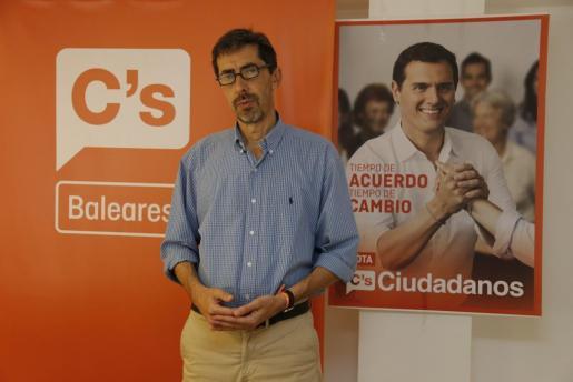 Fernando Navarro en una imagen de archivo.
