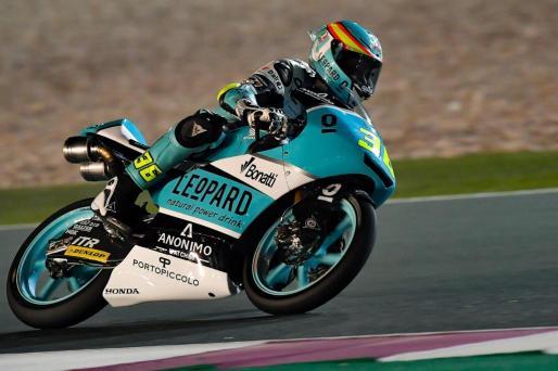 El mallorquín Joan Mir, durante el Gran Premio de Catar de Moto3.