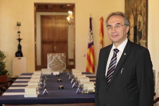 En la imagen, el conseller de Educació i Universitat, Martí March.
