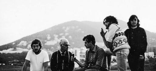 Martí Canyelles, Mateu Morro y Gori Negre entrevistaron a Jaume Tries en Eivissa en 1981.